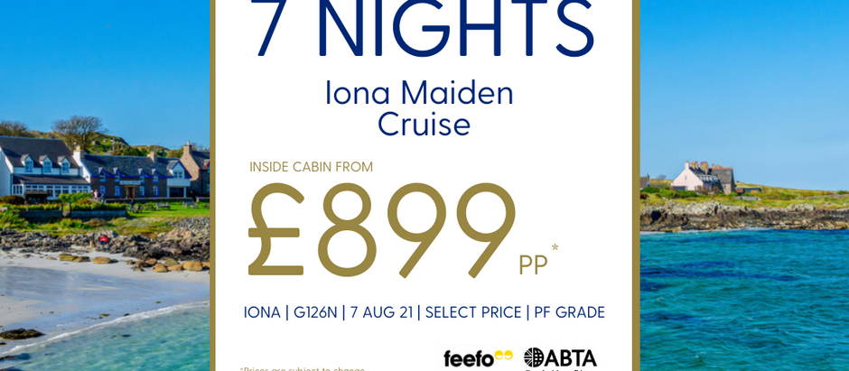 A Maiden Cruise like no other