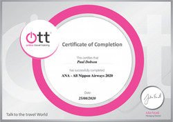 ANA Certificate
