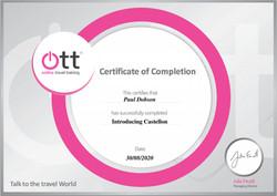 Introducing Castellón Certificate