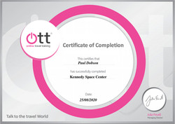 Kennedy Space Centre Certificate