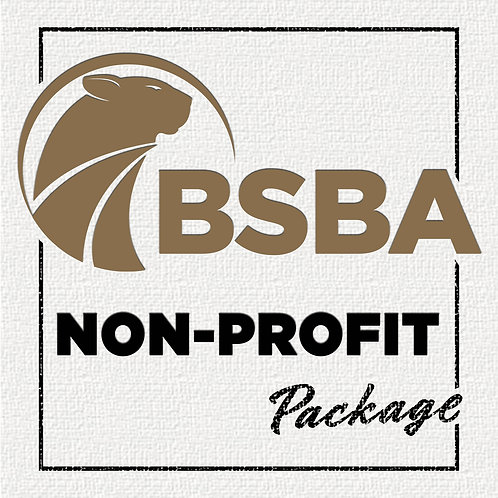BSBA Non-Profit Membership Package (Annual)