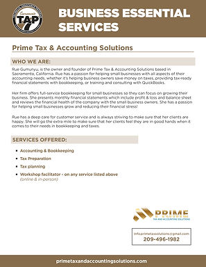 TAP_Business Essential Services prime ta