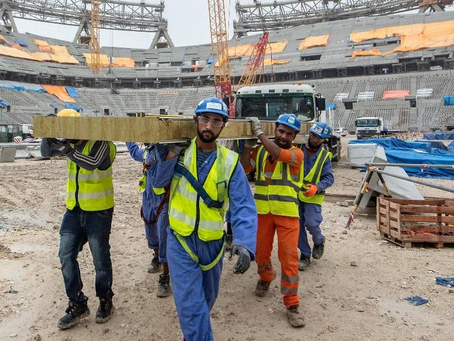 Qatar 2022: A World Cup of forced labour and death