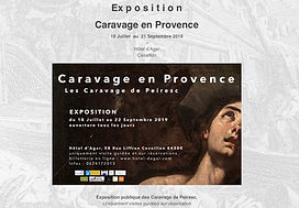 Communication Hotel d'agar- Caravage Cav