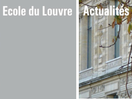 Cours de l'Ecole du Louvre / Mamac Nice