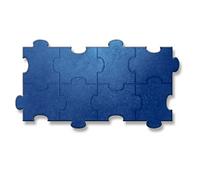 Piso  de Borracha Kasfloor - Puzzle