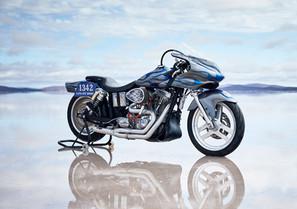 Sydney Custom Spraypainting Racing Motorcycle