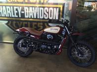 Vintage style Harley-Davidson scrambler