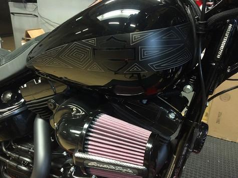 Harley-Davidson & Marvel Black Panther Breakout