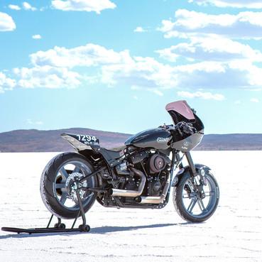 Elliott Motorcycles land speed race bike