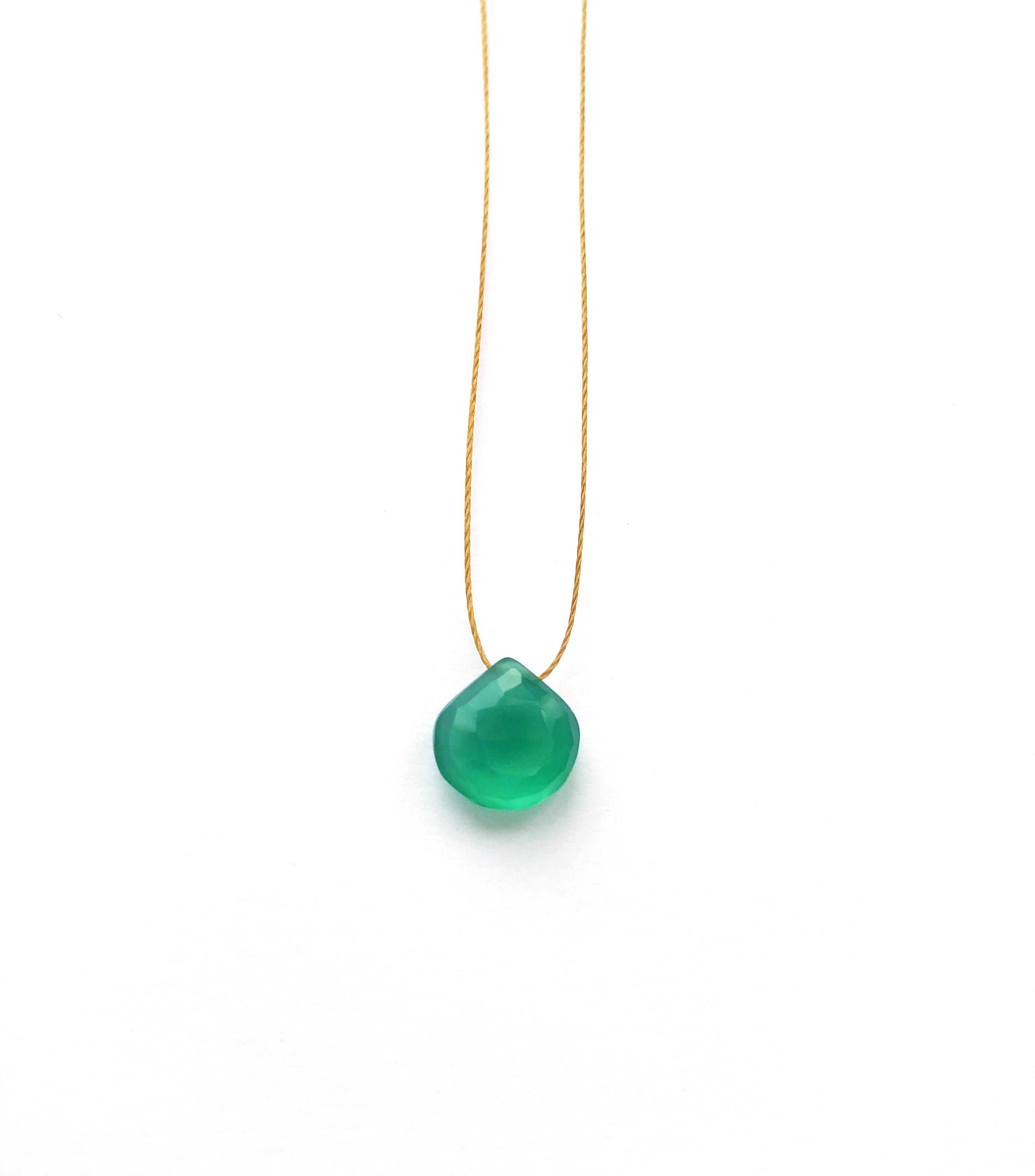 green chalcedony briolette 2.jpg