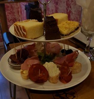 Afternoon tea at Dixey CB