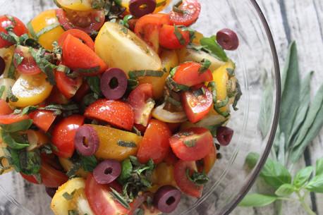 Tomato Fest Salad