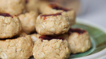 Peanut Butter & Jelly Cookie in 4 Steps