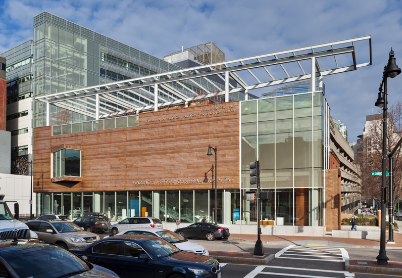 MGH Museum: Exterior View from SE