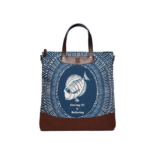 D-Mulgogi Navy Tote Bag