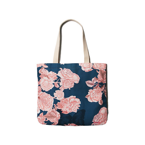 Flowers Navy Shoulder bag