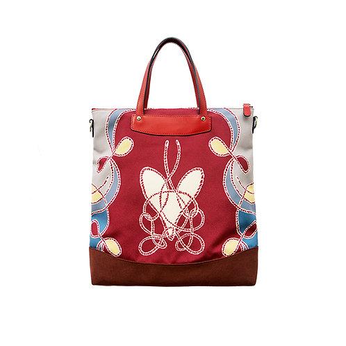 Bi-king Red Tote Bag