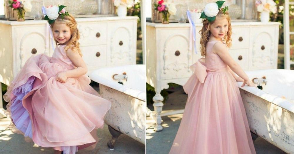 Cute Flower Girl Outfit Ideas