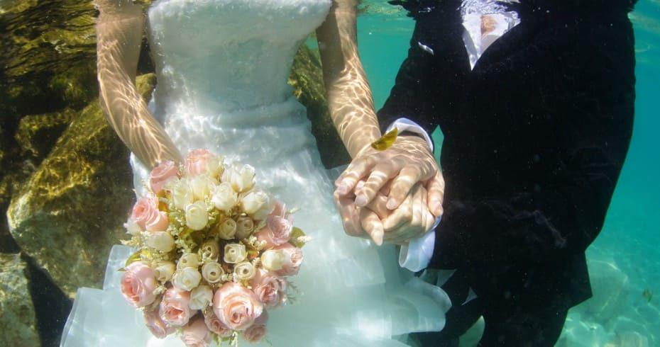 Креативная Свадьба Под Водой