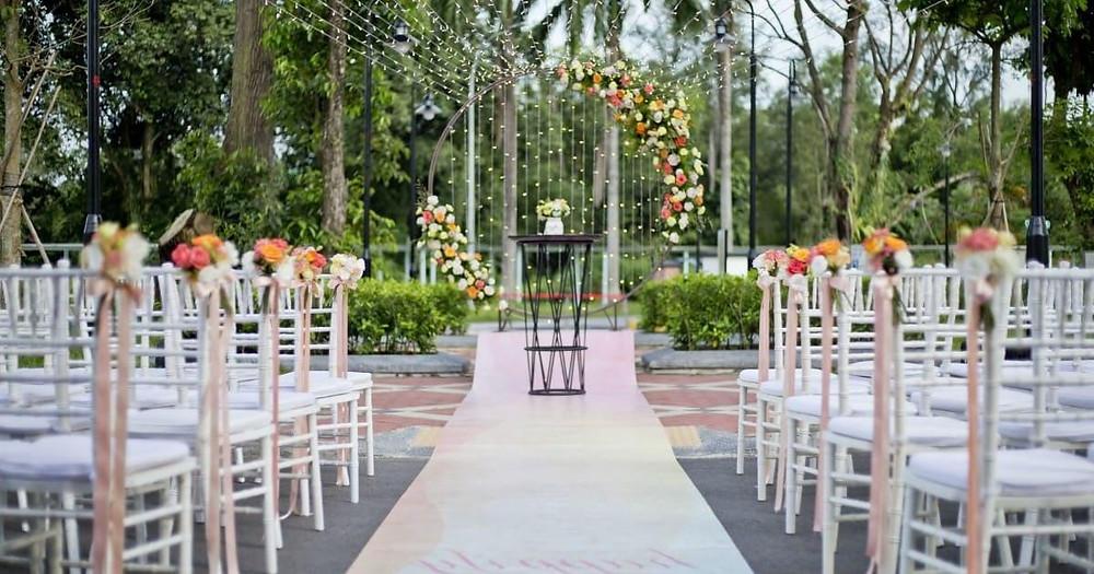 Ideal Outdoor Wedding Venue In Dubai
