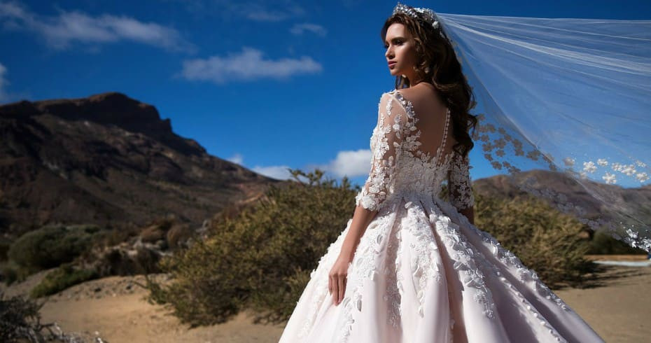 Модные Длинные Свадебные Платья