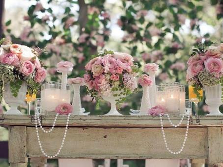 Винтажная стилистика свадьбы в деталях - идеи декора