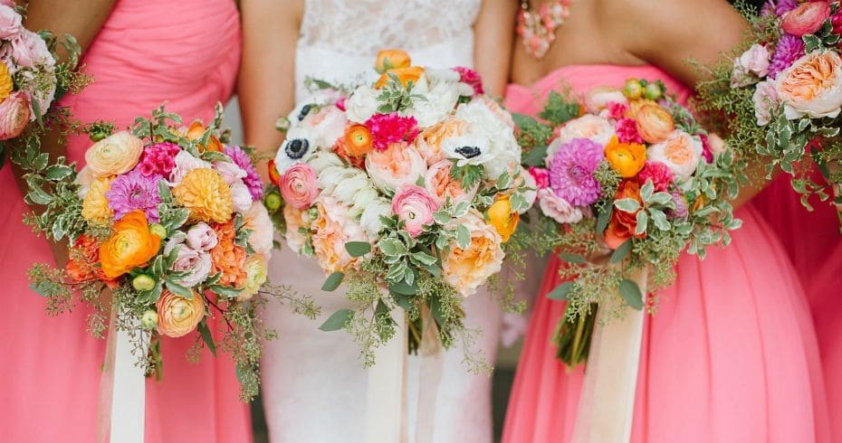 Выбираем Цветы Для Свадьбы