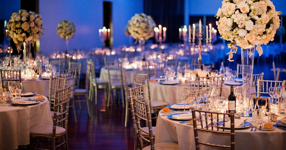 How To Set A Wedding Reception Table