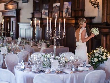 Современные идеи украшения свадебного зала