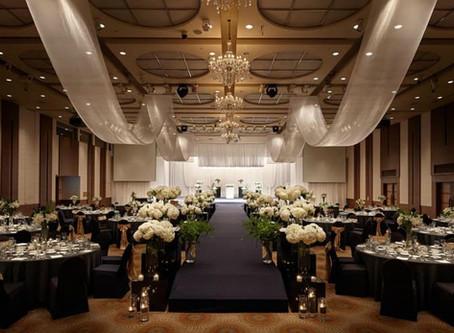 Лучшие способы оформления зала на свадьбу
