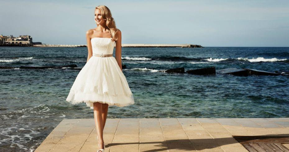 Стильные Короткие Свадебные Платья