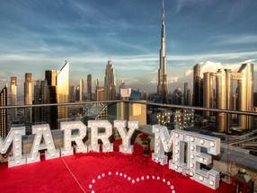 Предложение руки и сердца в Дубае