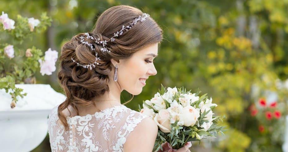 Свадебная Причёска Дубай