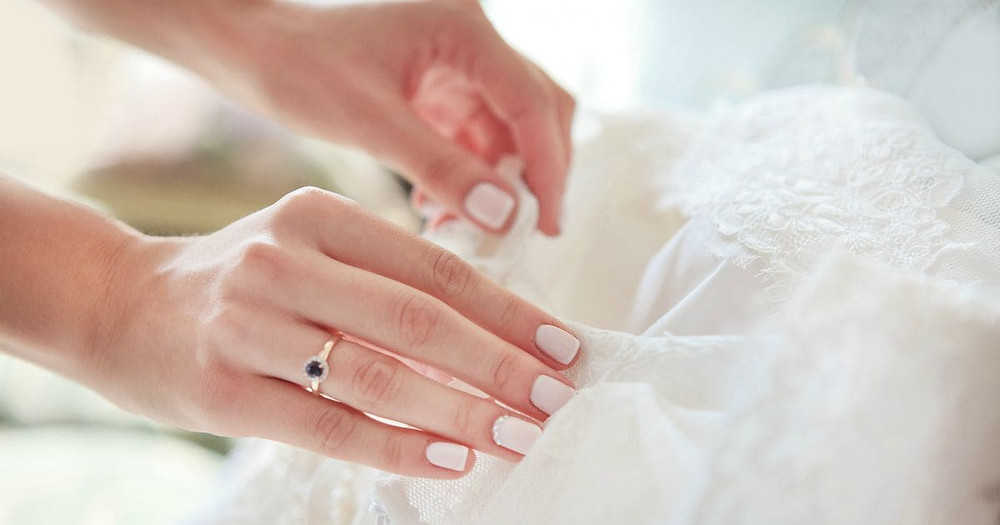 Simple Wedding Manicure Ideas