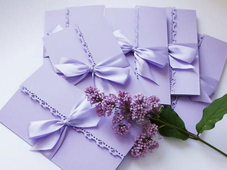 Эксклюзивные свадебные пригласительные - приглашения на свадьбу ручной работы