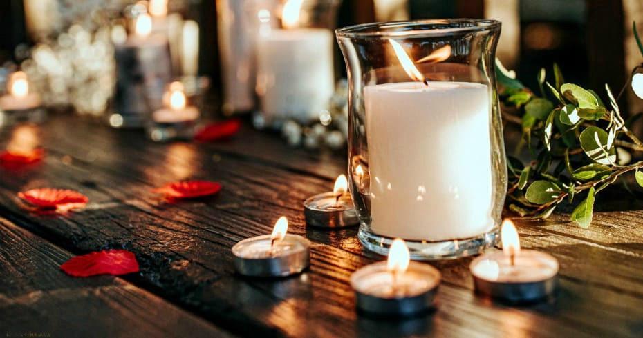 Применение Свечей Для Украшения Свадьбы