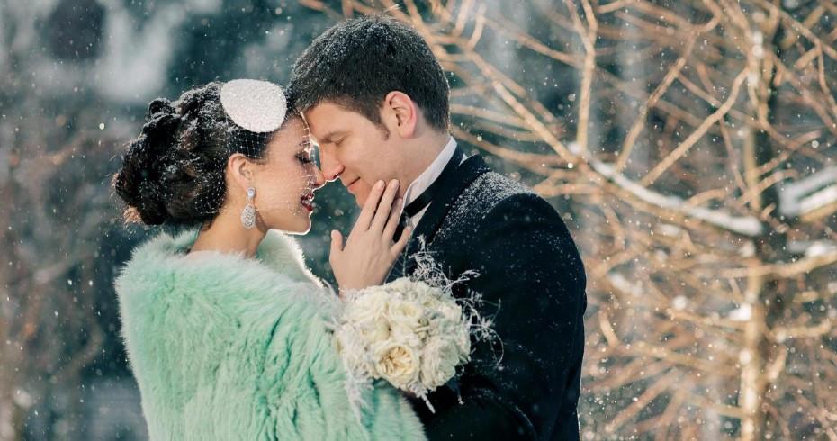 Свадебная Фотосъёмка Зимой