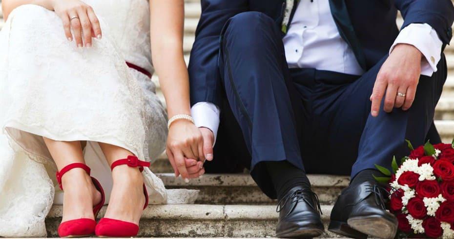 Парный Свадебный Образ Жениха И Невесты