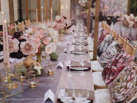 Оригинальные идеи украшения зала на свадьбу - недорогие варианты декора
