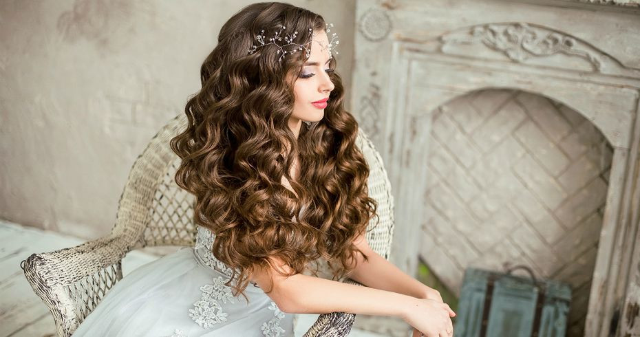 Свадебные Причёски С Распущенными Волосами