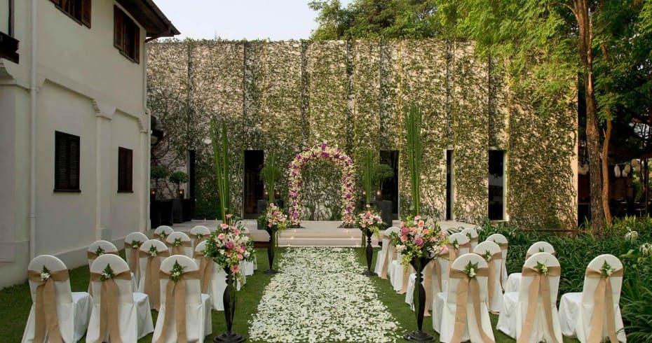 Свадьба В Саду