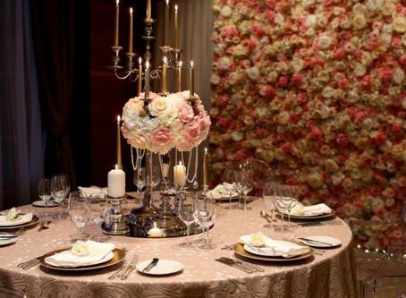 Профессиональное оформление зала на свадьбу