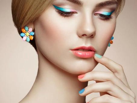 Летние тренды макияжа 2020 - яркие акценты