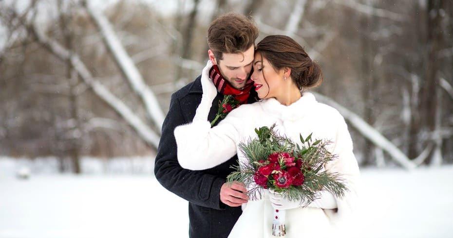 Идеальная Зимняя Свадьба