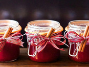 Fall wedding favors that guests really use