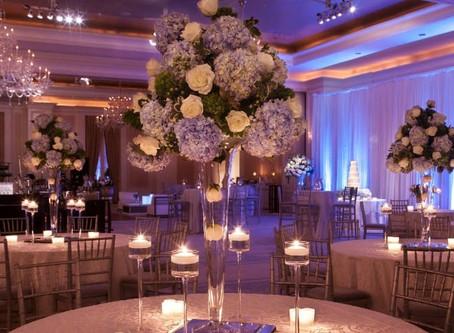 Идеи оформления свадебного зала
