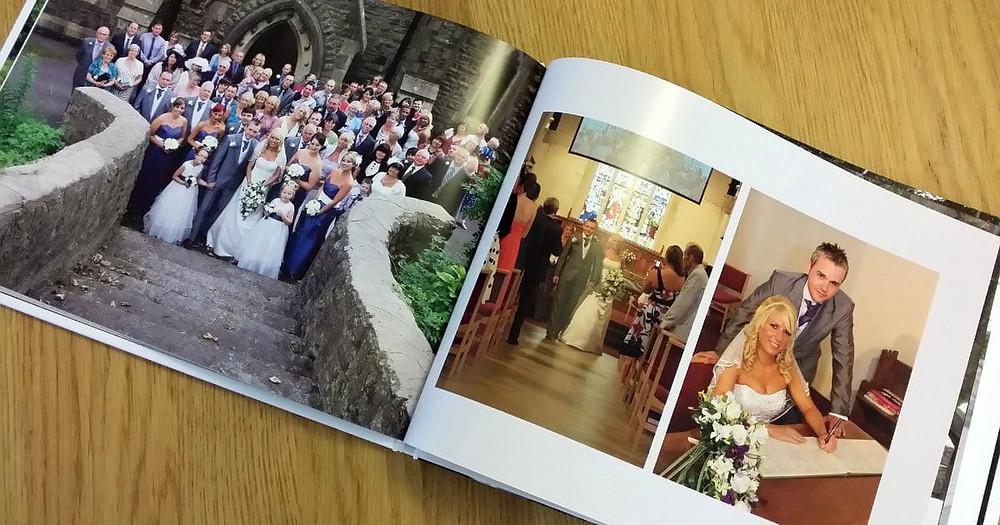 Creative Wedding Photo Album Ideas