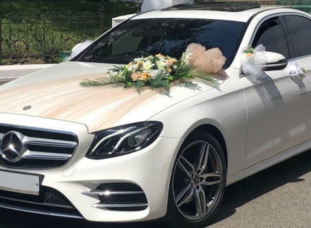 Как украсить свадебный кортеж