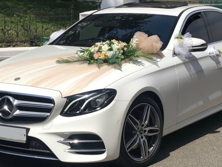 Как украсить свадебный кортеж - современные идеи